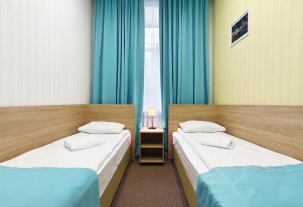Номер Комфорт с раздельными кроватями